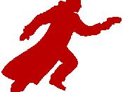 Blade runner guy-red on transparent bg