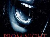 Film poster for Prom Night - Copyright 2008, Screen Gems