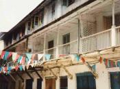 English: The house where Freddie Mercury was born, Zanzibar Italiano: Casa natale di Freddie Mercury a Stone Town. Magyar: Szülőháza Stone Townban. Freddie Mercury szülőháza. Deutsch: Geburtshaus von Freddie Mercury aus Sansibar