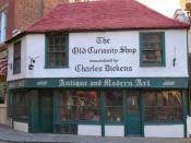 Русский: Здание магазина The Old Curiosity Shop в Лондоне