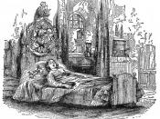 A photograph of an engraving in The Writings of Charles Dickens Titled