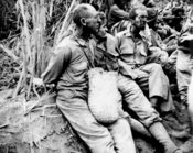 Many US and Filipino prisoners died as a result of the Bataan Death March, in May 1942