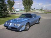 A picture of a 1981 Turbo Trans Am