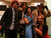 Cosplay - AWA15 - Reno, Squall Leonhart, Rinoa Heartilly, Irvine Kinneas, and Zell Dincht