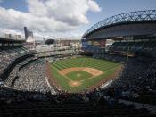 Safeco Field in Seattle.