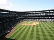 Safeco Field in Seattle, Washington.