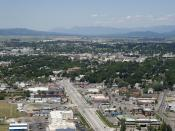 Highway 93, Kalispell, Montana