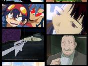 Anime artists use many distinct visual styles.