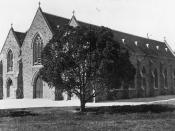 Catholic Church in Fortitude Valley, Brisbane, ca. 1914
