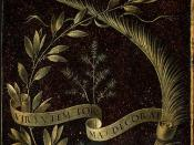 Rückseite des Gemäldes Ginevra de' Benci von Leonardo da Vinci