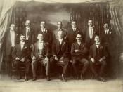 English: Council of the Society of St. George, Bowen, 1921