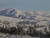 Druid Peak and Mount Norris