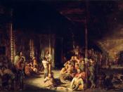Depiction by David Gilmour Blythe, 1863
