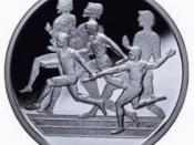 Relays commemorative coin