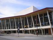 English: Hobby Center in Houston, Texas in 2008