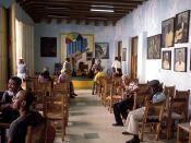 Casa de la Trova, a local musical house at Santiago de Cuba.
