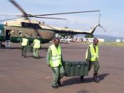 Mil Mi-17 Rwanda Air Force - Darfur support, U.S. Army Africa, Kigali, Rwanda 090114