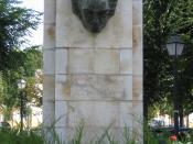 Monument in Aranjuez, Spain