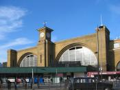 English: The front of King's Cross station