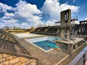 English: The swimming venue of the 1936 Summer Olympics in Berlin.