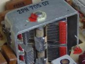 Electronic component - variable capacitor in an older tuner