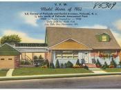 V. F. W. model home of 1952, S. E. corner of Palisade and Euclid Avenues, Palisade, N. J., 1/2 mile north of Palisade Amusement Park