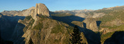 View from Glacier point, Yosemite, California, USA