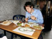 Israel 4 028 Jew with kosher food