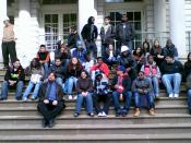 WHSAD Sophomore Students Field Trip to City Hall
