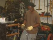 WHSAD Sophomore Summer Internship at Aurora Lampworks