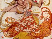 Léon Bakst: Costume design for principal female dancer