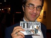 Atom Egoyan holding a producer credit for The 1 Second Film