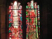 Lights 3 & 4, Stained Glass Created By Tom Denny To Commemorate Thomas Traherne - Hereford Cathedral.