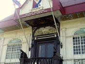 Aguinaldo Shrine, the birthplace of Philippine Independence.
