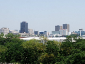 English: Skyline of Baton Rouge, LA
