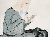 Portrait of Jin Nong by his protege, Luo Ping, in about 1762 or 1763 (possibly soon after Jin's death), portrayig Jin as a