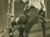 English: Gösta Ekman Sr. in the title role in Ibsen's drama Peer Gynt.