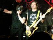 English: Heavy metal band Aria performing a show in Vladivostok, Russia