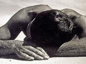 English: Sunbaker is an iconic photograph by Australian photographer Max Dupain.