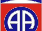 English: Combat Service Identification Badge of the 82nd Airborne Division