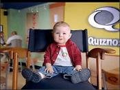 Baby Bob as Quizno's television pitchman