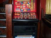 A game machine based on soap opera Coronation Street