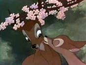 English: Screenshot of Bambi and Faline from the trailer for the film Bambi.
