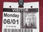 London January 6 2014 063 Parliament Visitor Pass