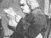 Dr. Samuel Johnson. (detail)