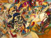 Composition VII—according to Kandinsky, the most complex piece he ever painted (1913)