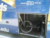 My bike on the FIU bus