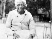 Former slave at Kingsley Plantation: Fort George Island, Florida