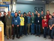 Group Photo: Participants in Magnetic Switching Experiment at LCLS