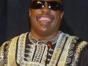 Salvador (BA) - O Cantor Stevie Wonder fala na abertura da 2ª Conferência de Intelectuais da África e da Diáspora em Salvador.